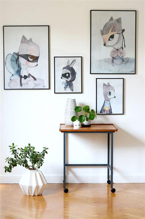 affiches chambre enfant affiche chambre enfant aquarelle animaux picslovin
