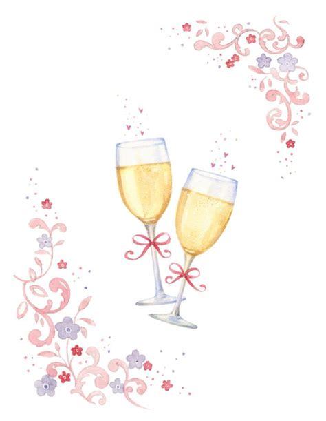 Wedding Glasses Clipart by Wedding Chagne Glass Clipart Www Pixshark