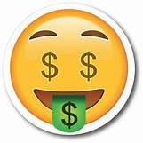 Dollar Sign Number 5 Emoji Pop | 300 x 300 jpeg 14kB
