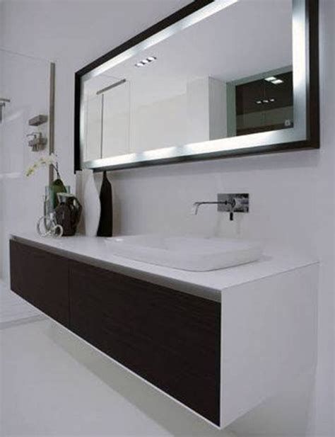 lighted mirrors for bathrooms modern etikaprojects com do it yourself project