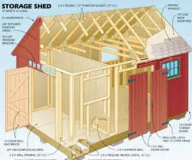 Outdoor Storage Building Plans by Shed Plans Complete Collection Garden Shed Plans 1 Gb