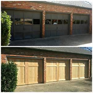 Cedar garage doors cowtown garage door blog