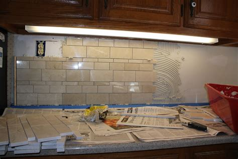 installing a kitchen backsplash installing a kitchen tile backsplash