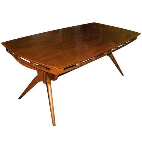 dining table furniture modern mid century dining table