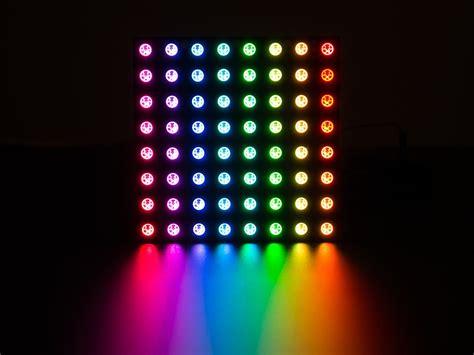 adafruit neopixel neomatrix   rgb led pixel matrix