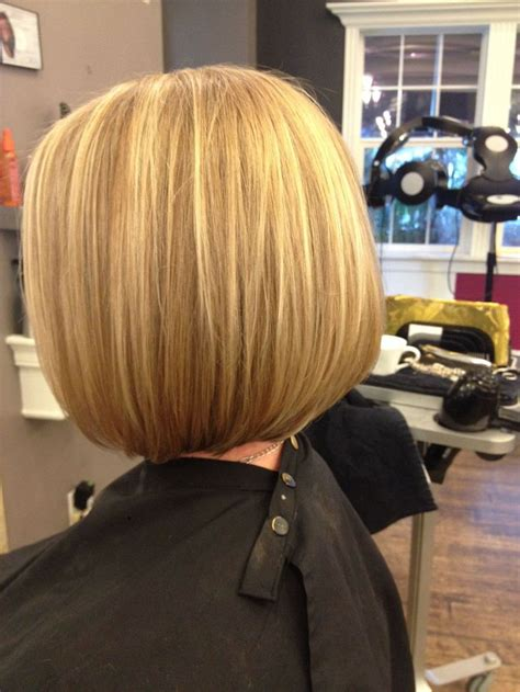 who can cut a inverted bob in chattanooga slight inverted bob with bright blonde highlights cut and