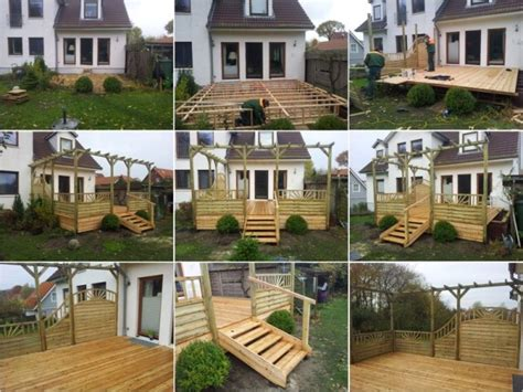 handlauf terrasse hgb holz und gartenbau terrassenbau