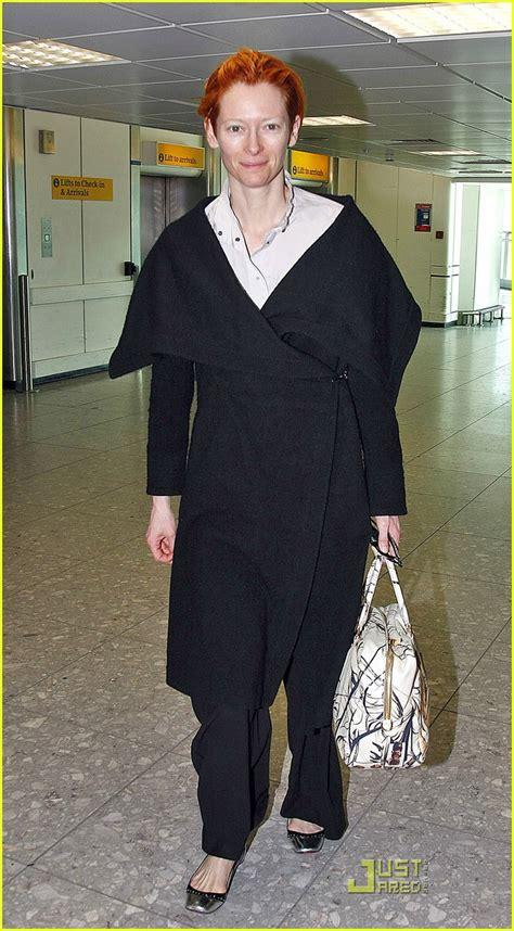Tilda Swinton And Prada Bag by Sized Photo Of Tilda Swinton 05 Photo