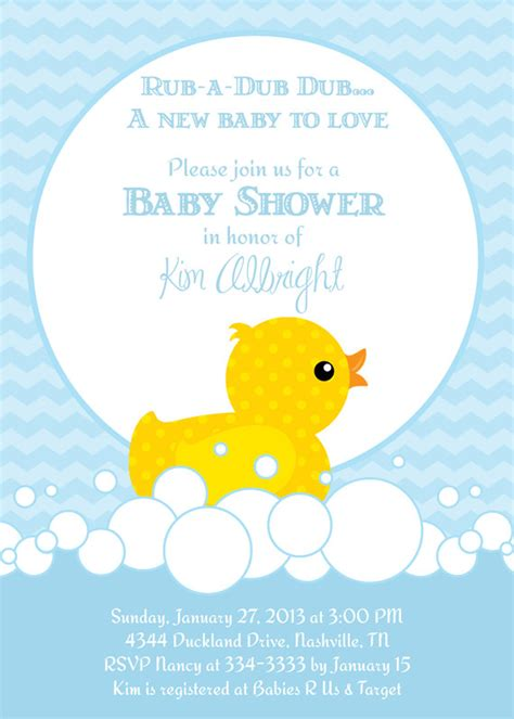 Baby Shower Invitations Rubber Ducky Baby Shower Invitations Template Design Ideas Duck Baby Rubber Ducky Baby Shower Invitations Template Free