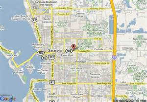 map sarasota florida usa map of homewood suites sarasota sarasota