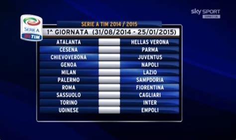 Calendario Serie A Tim 2014 Juventus Calendario Serie A Tutte Le Partite Della Juventus