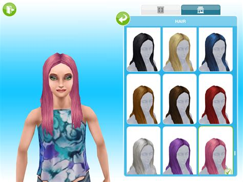 sims freeplay event long hair missy s sims and stuff the sims freeplay boutique hair