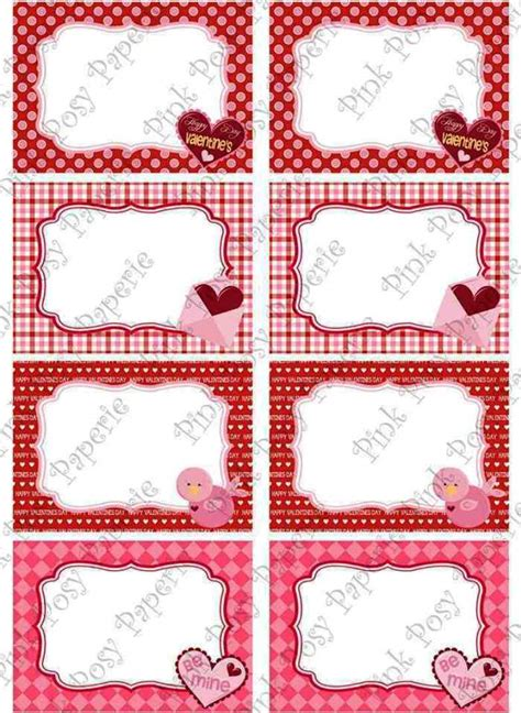 printable labels valentines sweet printable valentine food labels templatezet