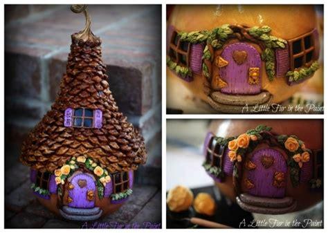 fairy houses polymer clay