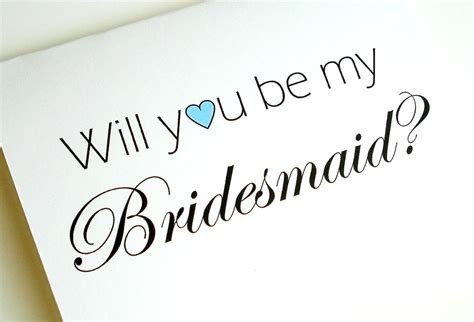 will you be my bridesmaid templates will you be my bridesmaid card by lilcubby on etsy