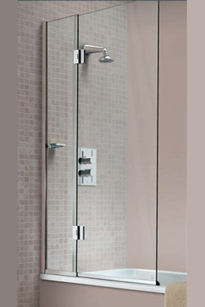 bi fold bath shower screen bi fold bath screen downstairs bathroom