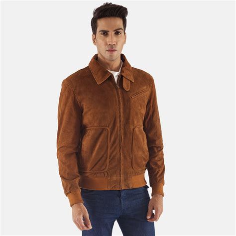 Suede Jacket mens tomchi suede leather jacket