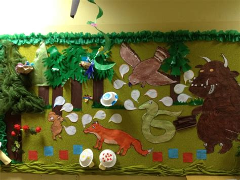 The Gruffalo Wall Stickers the gruffalo bulletin board what a teacher