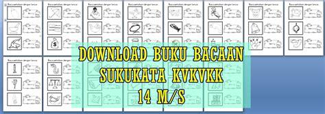 Buku Bacaan 3 koleksi bahan bantu belajar bbm buku bacaan suku kata kvkvkk 14 m s