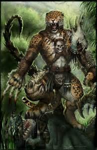 Jaguar Legends Bone Werejaguar Path To Apex By Chuckwalton On Deviantart