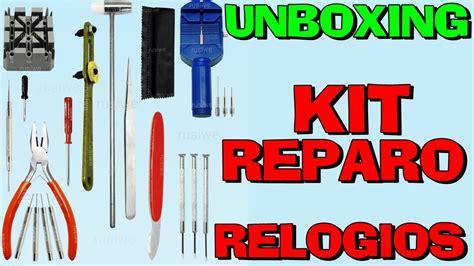 unboxing kit manuten 231 227 o de rel 243 gios aliexpress pt br hd