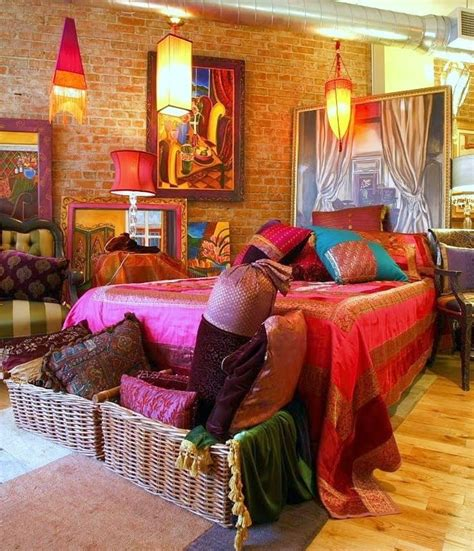 Diy Home Decor Indian Style 48 refined boho chic bedroom designs digsdigs