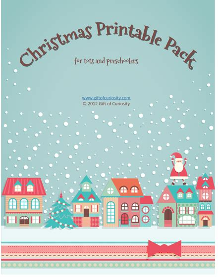 printable christmas party games pack download free printable pack for tots and preschoolers money saving 174