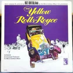 the yellow rolls royce 1964 the yellow rolls royce soundtrack 1964