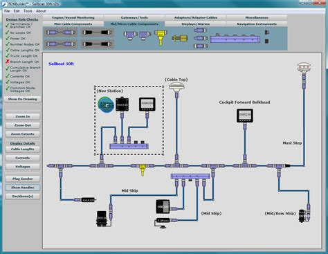 home network design software maretron n2kbuilder