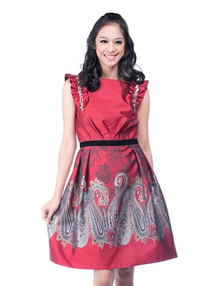 Javane Baju Dress Maxy Wanita by sebastian gunawan batik dress thedresscodes
