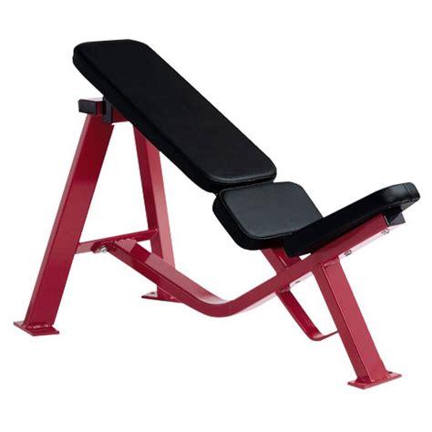 30 degree bench decline bench 30 degree hammer strength gym machine