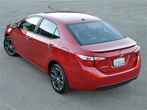 Sparepart All New Corolla test drive 2015 toyota corolla ny daily news