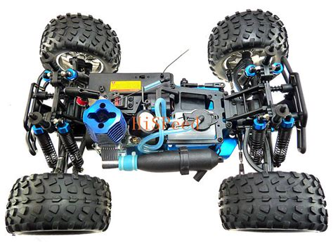 hsp nitro monster truck hsp rc truck 1 10 4wd nitro gas power off road monster