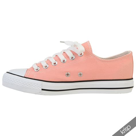 up sneakers womens canvas low top lace up trainers flatform shoes