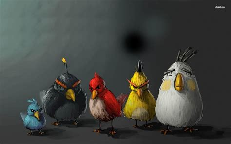 wallpaper with game birds 3d hd wallpapers angry birds wallpapers