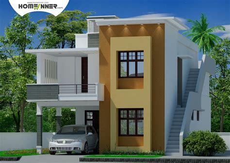 Architect Home Plans Modern Contemporary Tamil Nadu Home Design