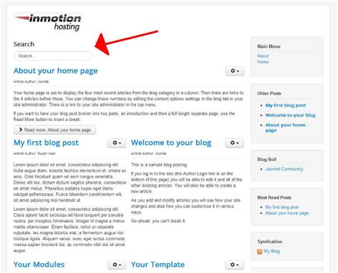 joomla template module positions how to move a module s position in joomla 3 1 inmotion