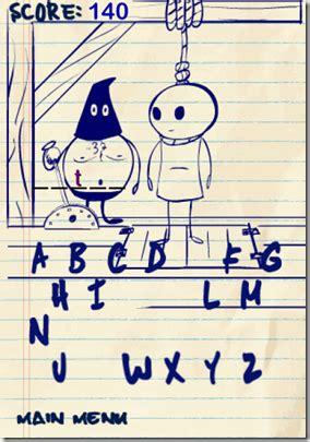 doodle hangman 5 free hangman for iphone