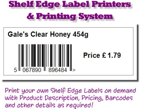Shelf Edge Label Printer by Shelf Edge Labels Shelf Edge Label Printing Shelf Edge Label Printers