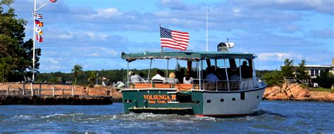 boat tours in ct thimble islands cruise stony creek ct 06405