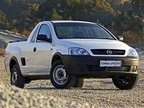 opel corsa bakkie opel corsa utility bakkie why it s a good buy
