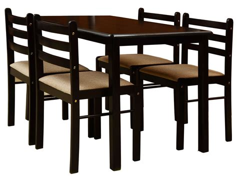 nitraa augusta four seater dining table contemporary wooden dining set 4 seater dining chair