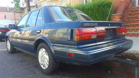1989 nissan stanza 1989 nissan stanza gxe sedan 4 door 2 0l low 69k