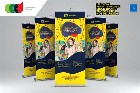 photography banner template photography roll up banner 2 flyer templates