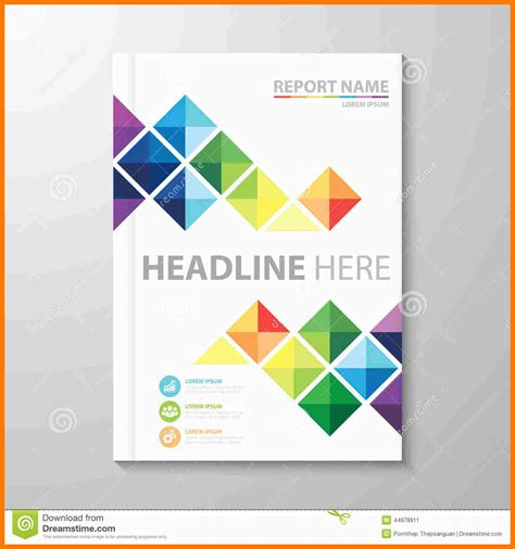 10 report cover page templates free download park attendant
