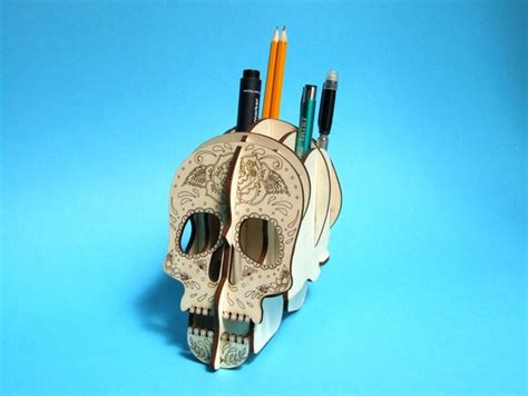 5 Halloween Inspired Laser Cut Projects Ap Lazer Laser Cut Skull Template