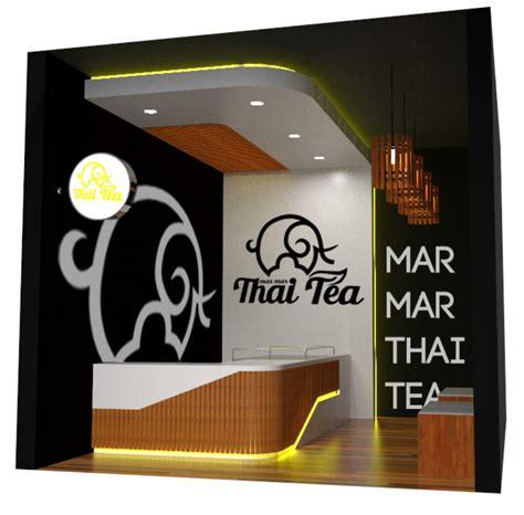 design booth thai tea sribu desain booth desain interior untuk quot thai tea