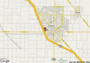 map of comfort suites turlock turlock
