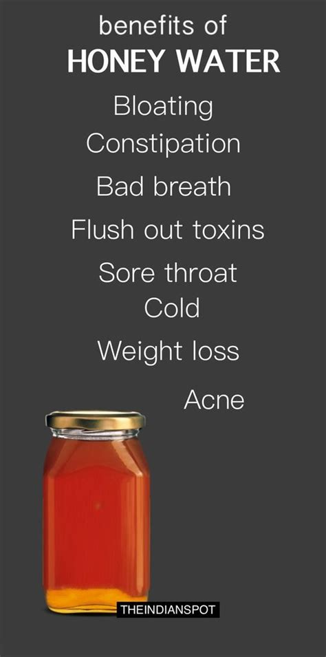 Honey Detox Diet by Benefits Of Honey Water You Never Knew Health Discount