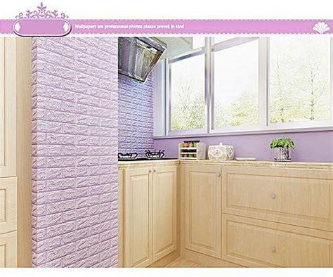 skywolfeye  brick wall sticker  adhesive foam